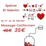 Stress-off St Médard en Jalles offre St Valentin 2020